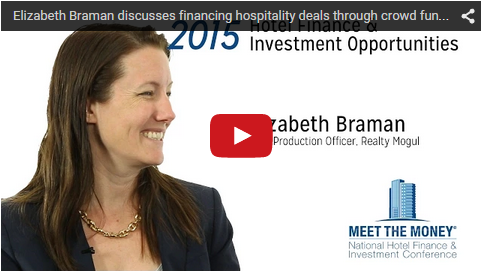 Elizabeth Braman discusses financing hospitality deals through crowd funding - Meet the Money®